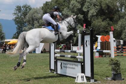 Concours saut Estavayer - Gaelle & Melody - 16.06.2018