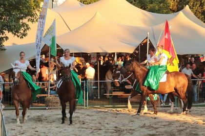 Spectacle Equestre F�te du Bl� et du Pain - Echallens - 15.08.2018